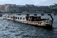 Wreck in the River Spree