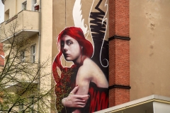 Red angel, Berlin