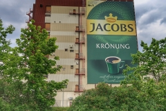 The Jacobs coffee factory