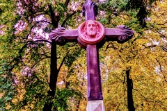 Pink cross, Berlin